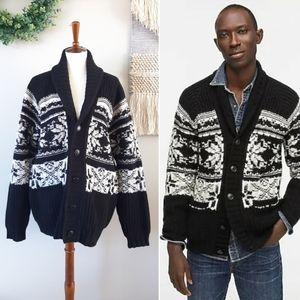 J. Crew | Merino Wool Shawl Cardigan Sweater